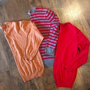 Lot of 3 Old Navy Men's Sweaters Size XL